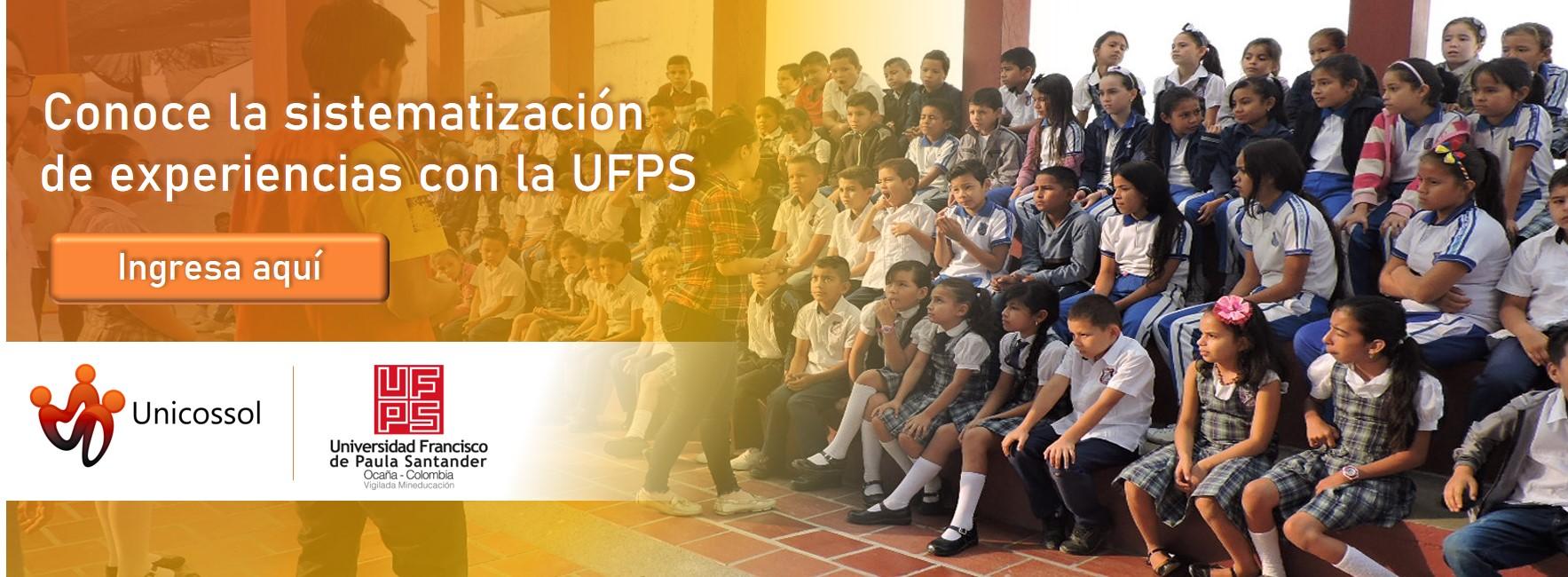 Sistematización experiencia UFPS